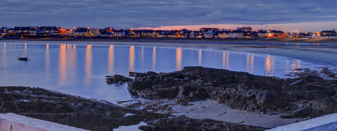Kilkee at night